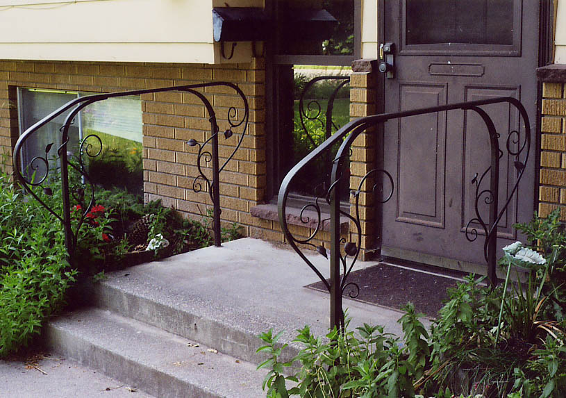 Exterior Handrail On Front Steps ... Photo Gallery